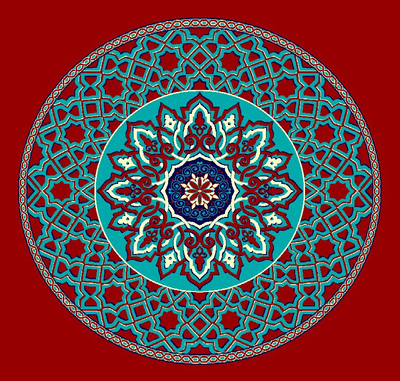 Gobekli Hali Model 3010 - Kırmızı