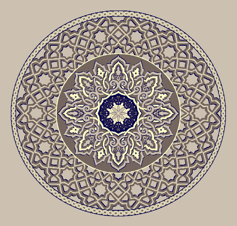 Gobekli Hali Model 3010 - Naturel