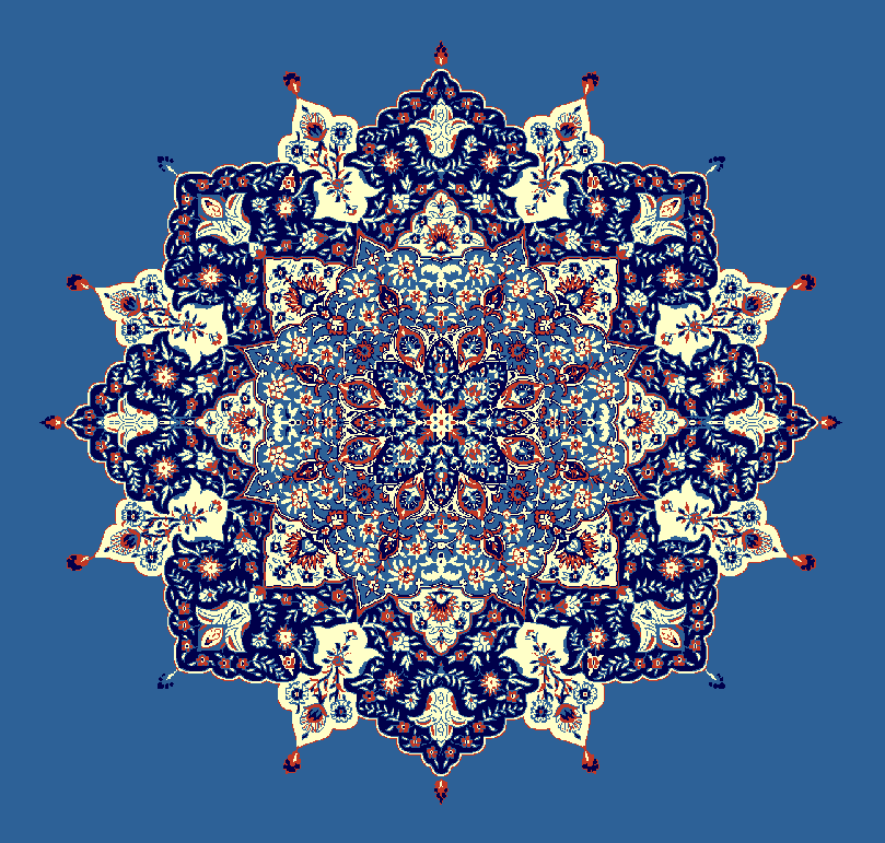 Gobekli Hali Model 3030 - Mavi