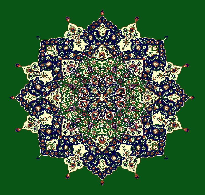Gobekli Hali Model 3030 - Yeşil