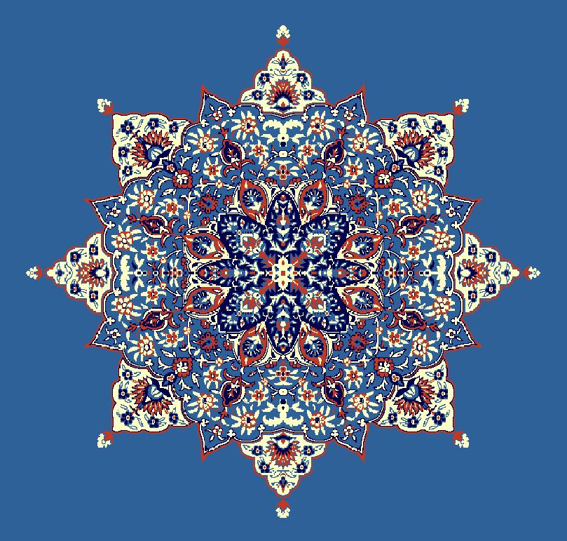 Gobekli Hali Model 3040 - Mavi