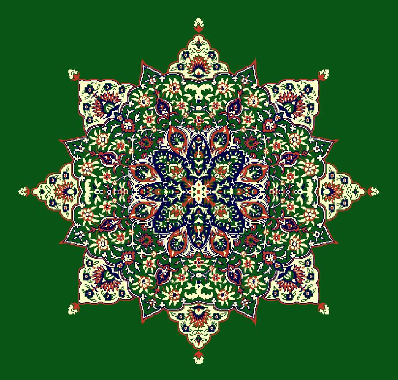 Gobekli Hali Model 3040 - Yeşil