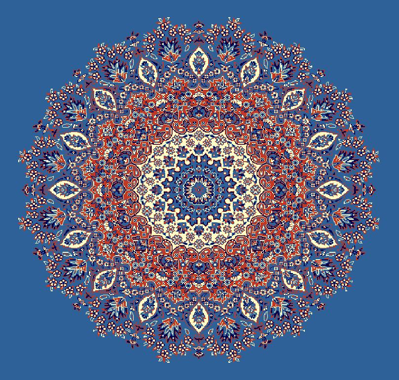 Gobekli Hali Model 3060 - Mavi