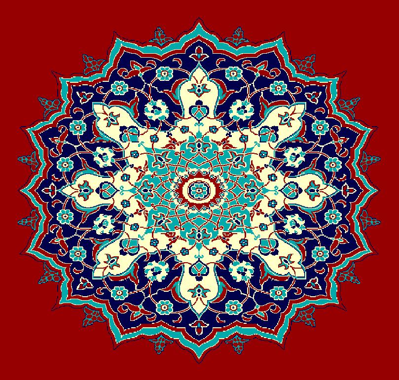 Gobekli Hali Model 3070 - Kırmızı