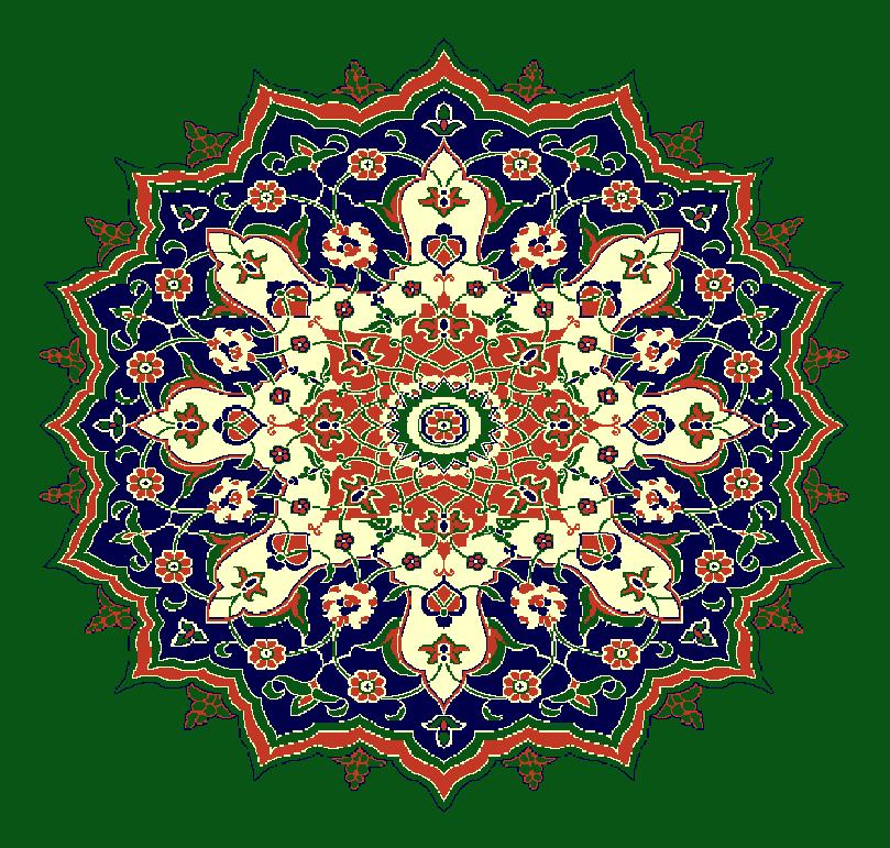 Gobekli Hali Model 3070 - Yeşil