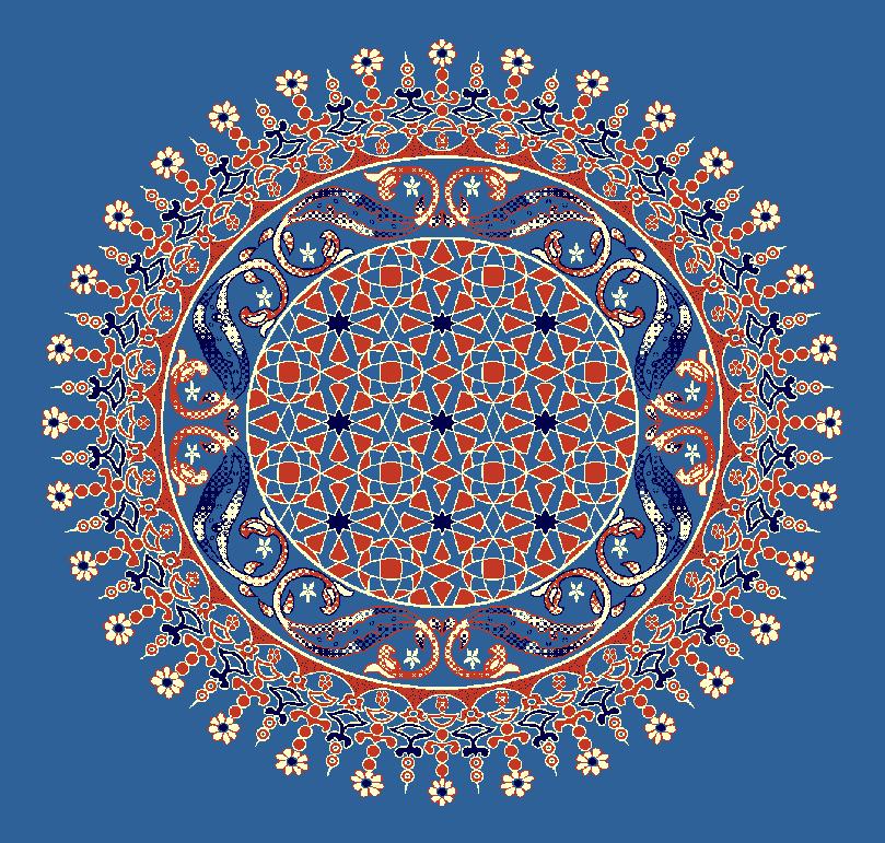 Gobekli Hali Model 3080 - Mavi