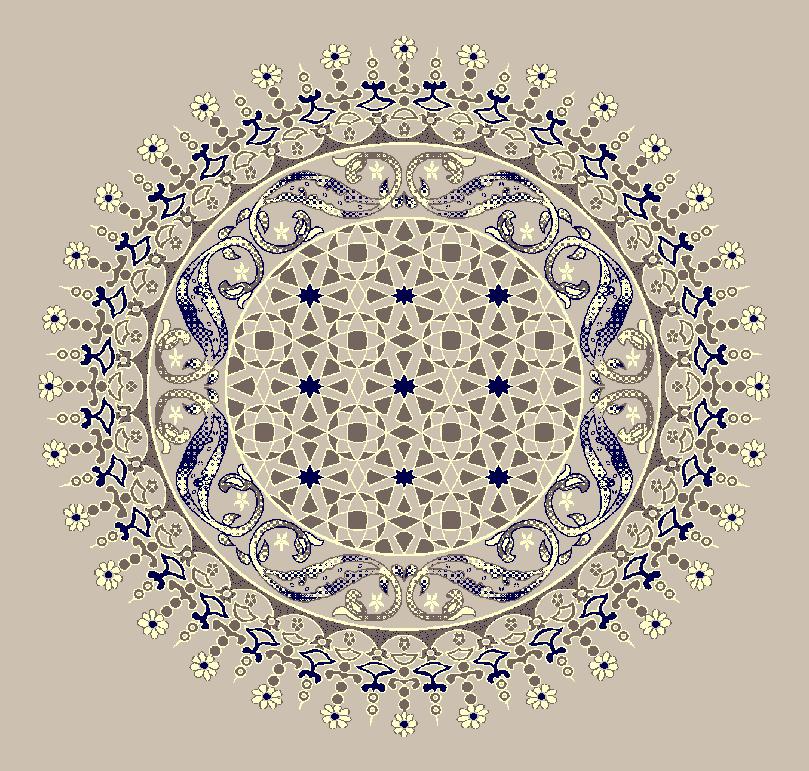 Gobekli Hali Model 3080 - Naturel