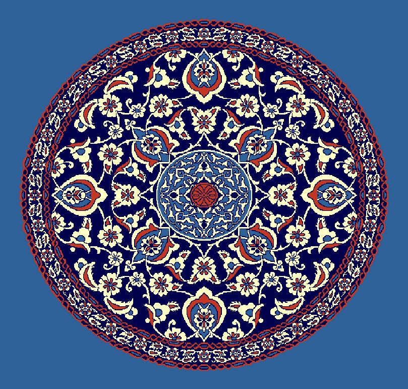 Gobekli Hali Model 3090 - Mavi