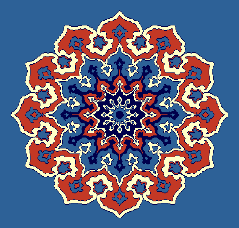 Gobekli Hali Model 3100 - Mavi