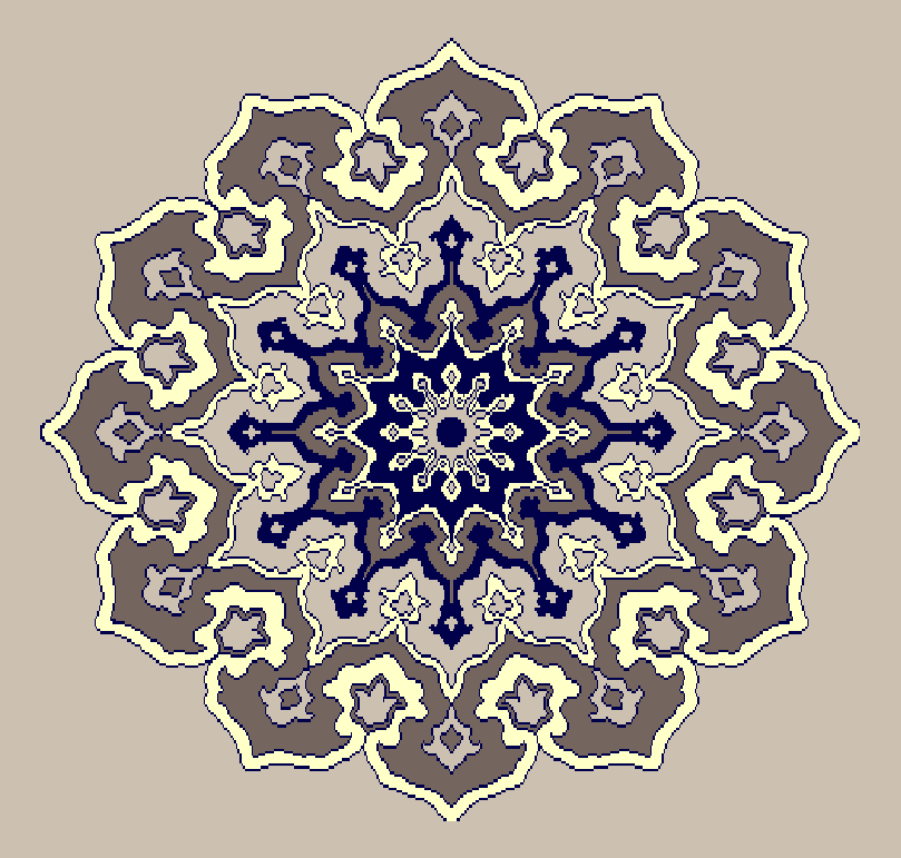 Gobekli Hali Model 3100 - Naturel