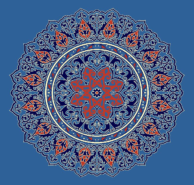 Gobekli Hali Model 3110 - Mavi