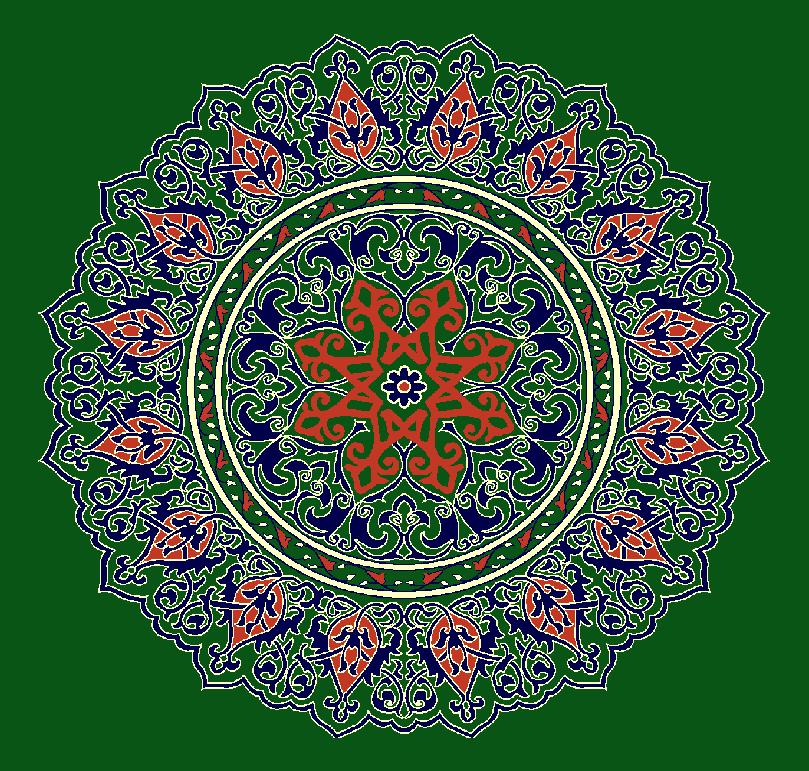 Gobekli Hali Model 3110 - Yeşil