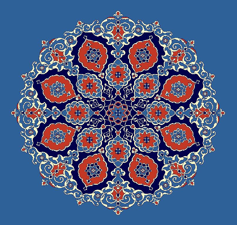 Gobekli Hali Model 3120 - Mavi