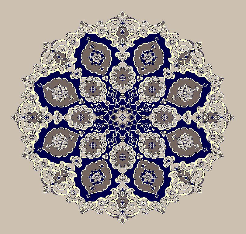 Gobekli Hali Model 3120 - Naturel