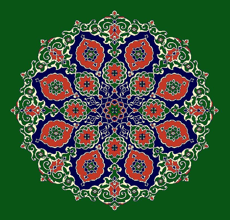 Gobekli Hali Model 3120 - Yeşil