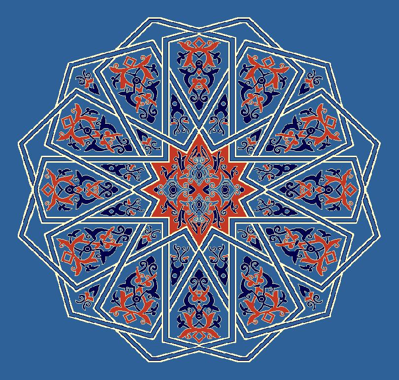 Gobekli Hali Model 3130 - Mavi
