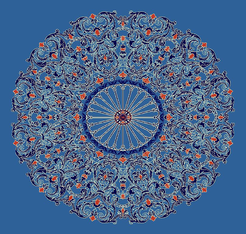 Gobekli Hali Model 3140 - Mavi