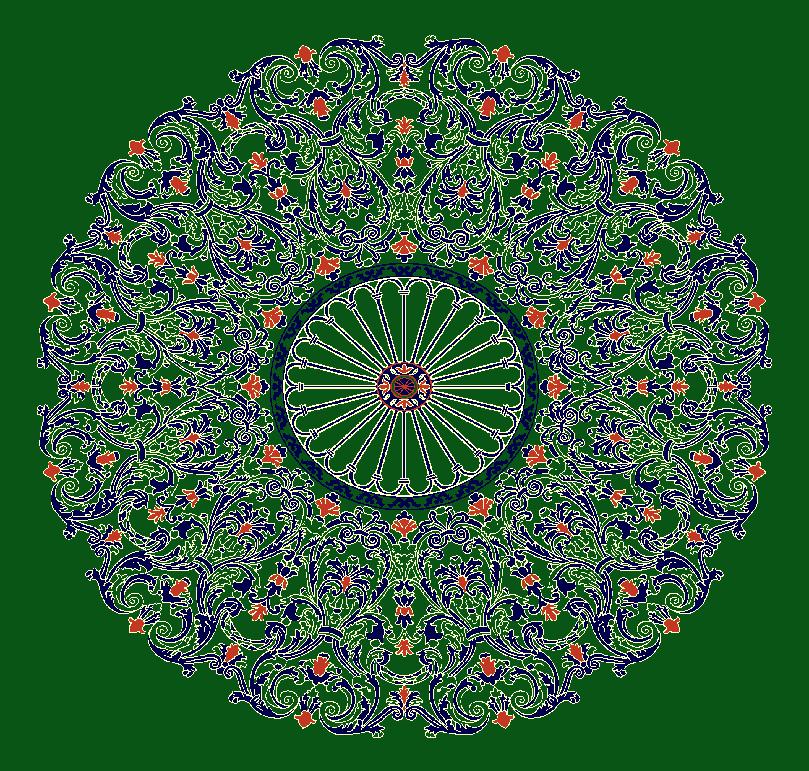 Gobekli Hali Model 3140 - Yeşil
