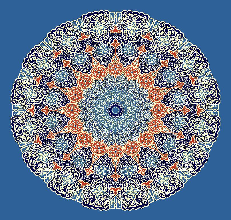 Gobekli Hali Model 3150 - Mavi