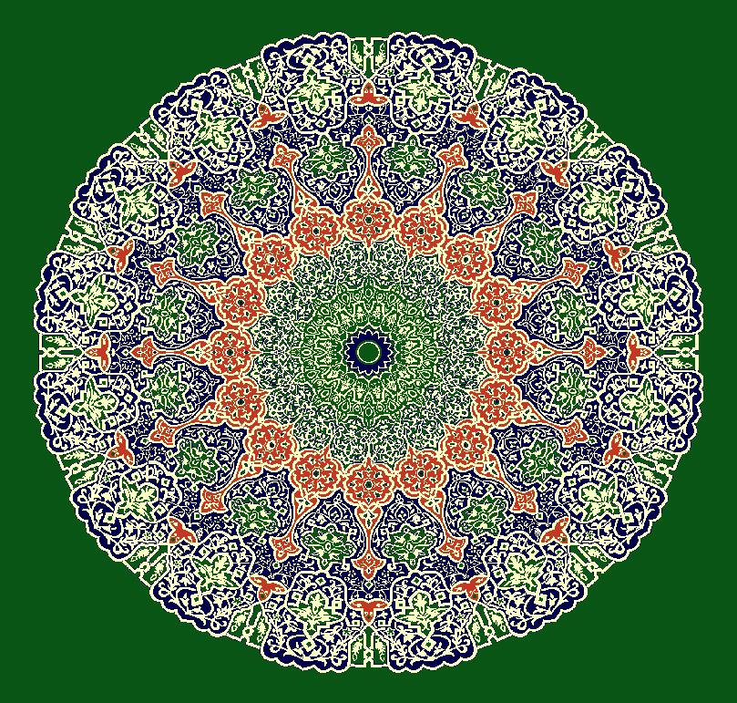 Gobekli Hali Model 3150 - Yeşil