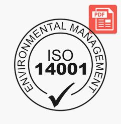 ISO 14001 Sertifika
