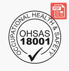 ISO 18001 Sertifika
