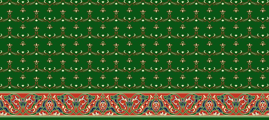Safli Cami Halisi Model 1020 - Yeşil