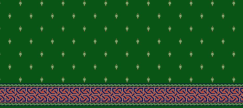 Safli Cami Halisi Model 1040 - Yeşil