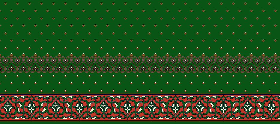 Safli Cami Halisi Model 1050 - Yeşil