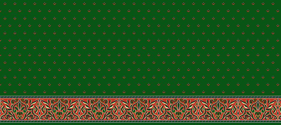 Safli Cami Halisi Model 1060 - Yeşil