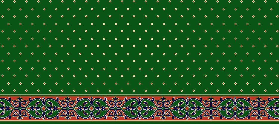 Safli Cami Halisi Model 1070 - Yeşil
