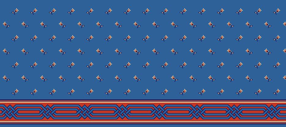 Safli Cami Halisi Model 1080 - Mavi