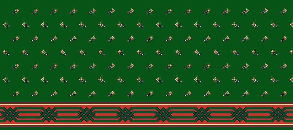 Safli Cami Halisi Model 1080 - Yeşil