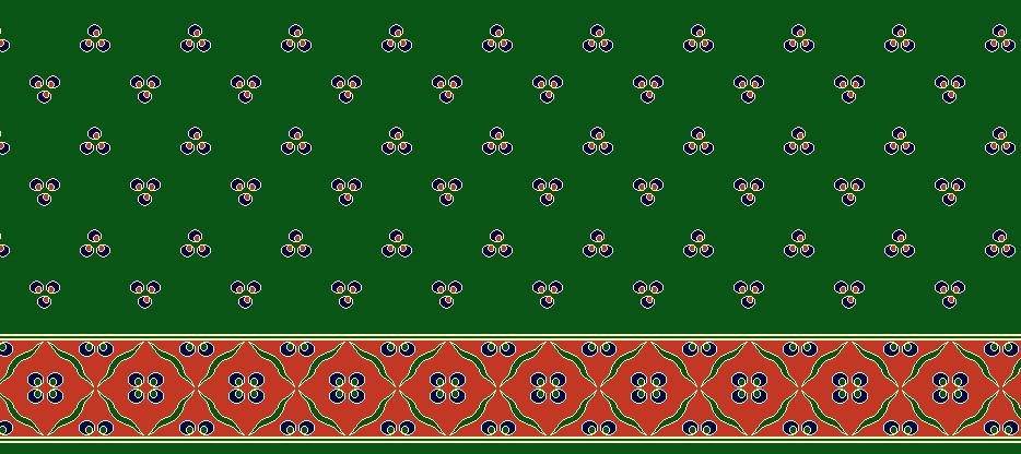 Safli Cami Halisi Model 1110 - Yeşil