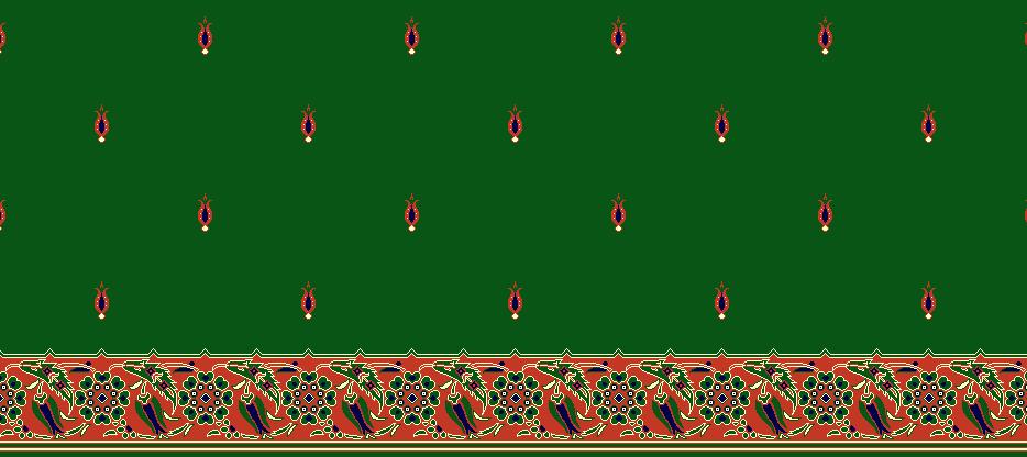 Safli Cami Halisi Model 1125 - Yeşil