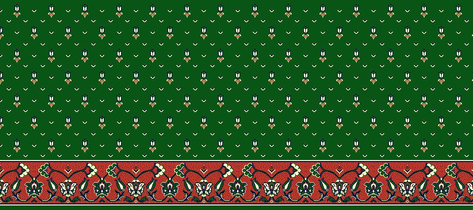 Safli Cami Halisi Model 1130 - Yeşil