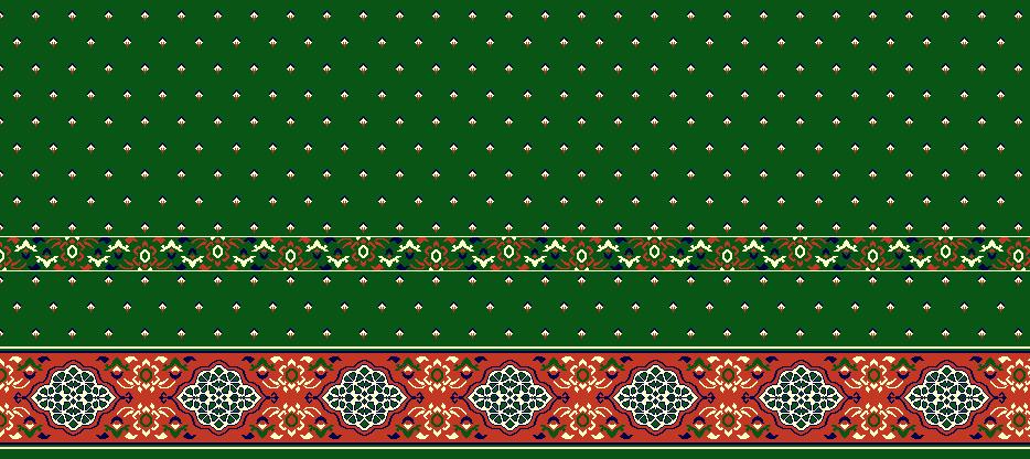 Safli Cami Halisi Model 1140 - Yeşil