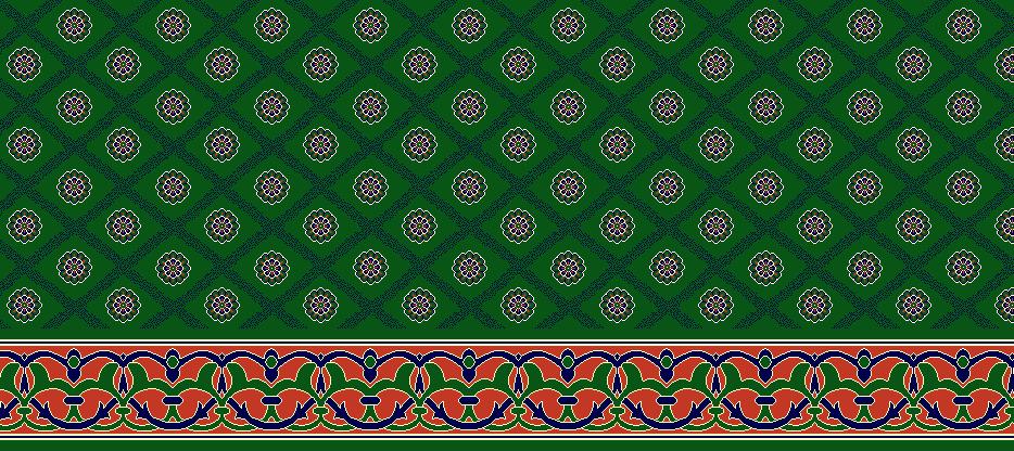 Safli Cami Halisi Model 1160 - Yeşil