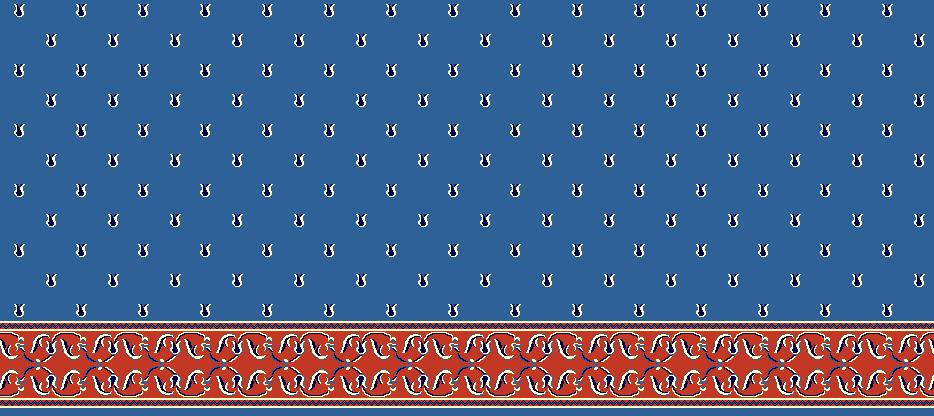 Safli Cami Halisi Model 1170 - Mavi