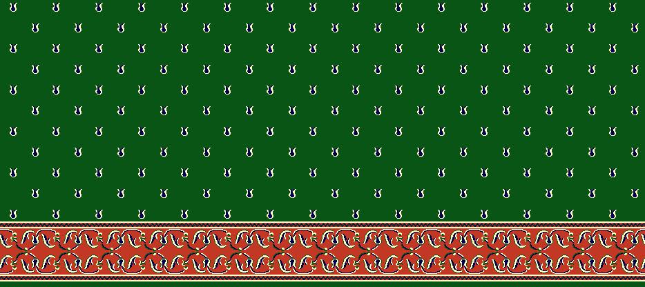 Safli Cami Halisi Model 1170 - Yeşil