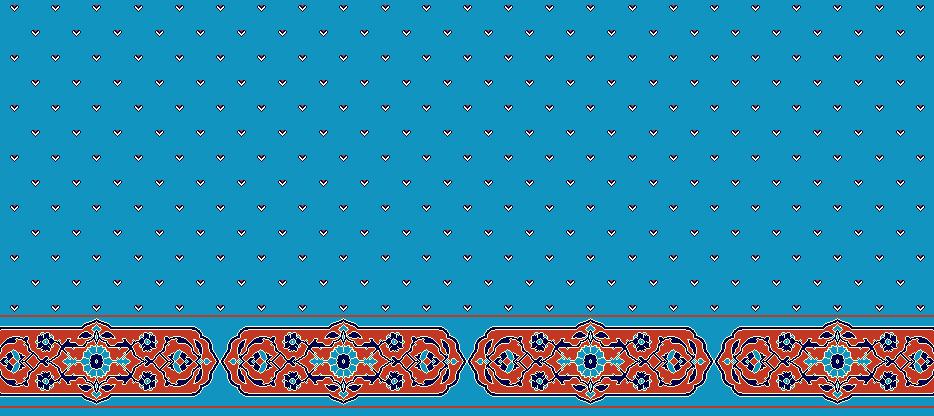 Safli Cami Halisi Model 1180 - Cam Göbeği Kiremit