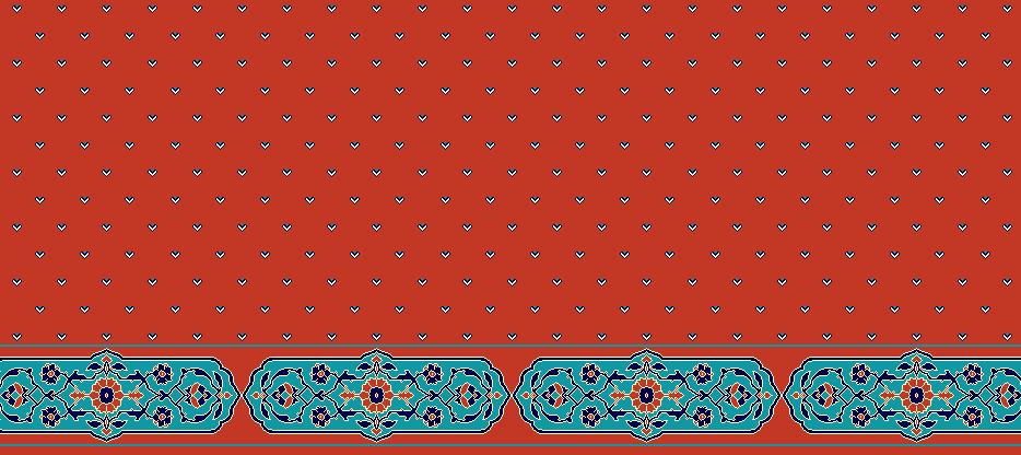 Safli Cami Halisi Model 1180 - Kiremit
