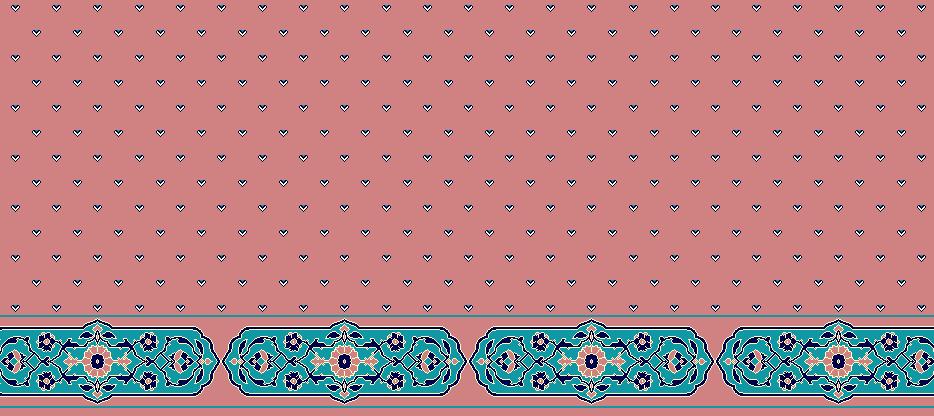 Safli Cami Halisi Model 1180 - Pembe