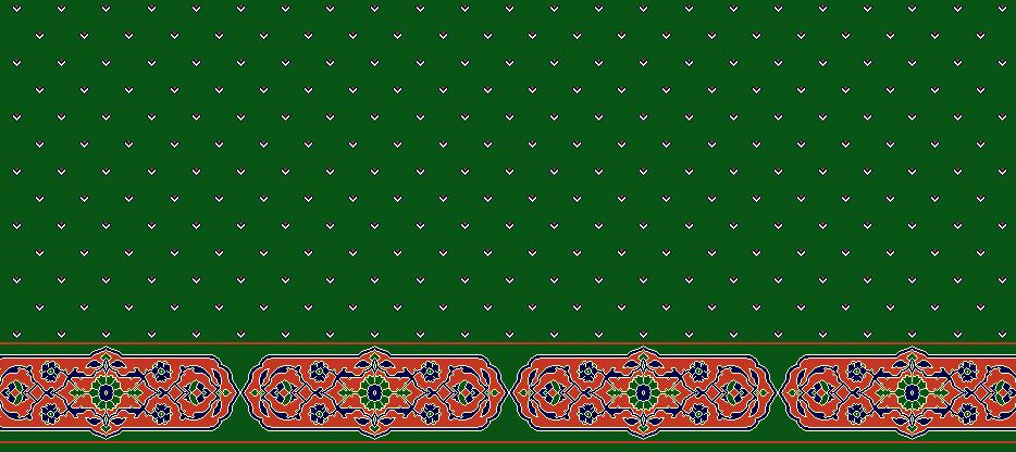Safli Cami Halisi Model 1180 - Yeşil