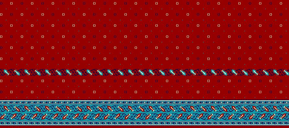 Safli Cami Halisi Model 1190 - Kırmızı