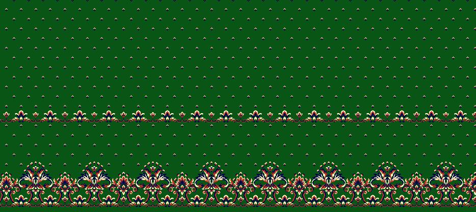 Safli Cami Halisi Model 1200 - Yeşil