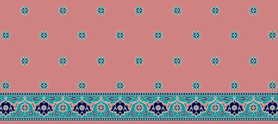 Safli Cami Halisi Model 1215 - Pembe