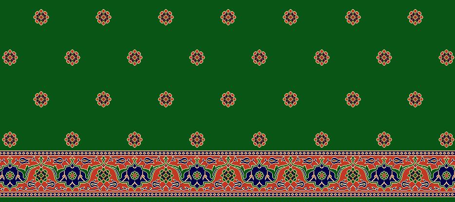 Safli Cami Halisi Model 1215 - Yeşil