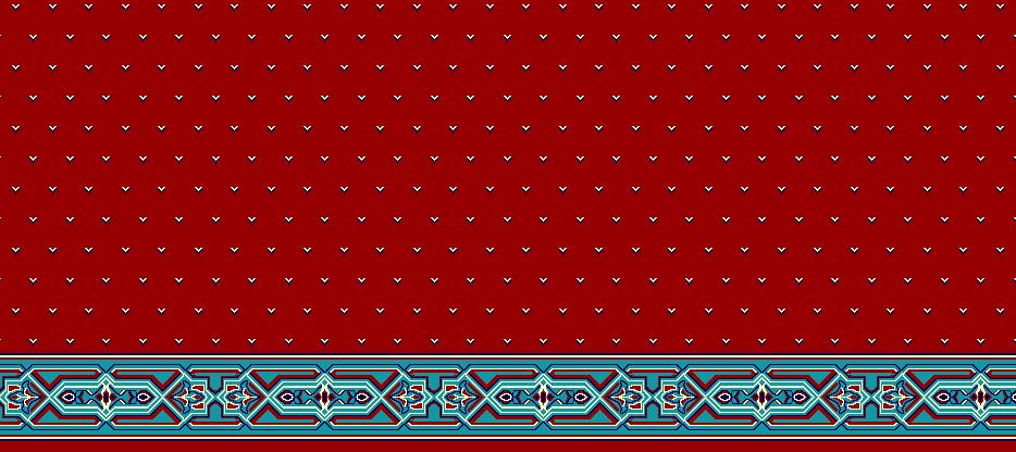 Safli Cami Halisi Model 1220 - Kırmızı