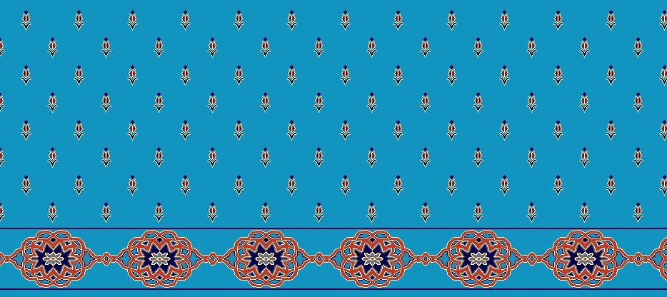 Safli Cami Halisi Model 1240 - Cam Göbeği Kiremit
